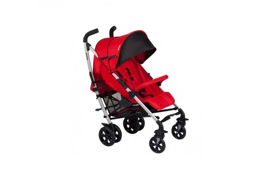 Coche Paseo City Stiching INFANTI | rojo