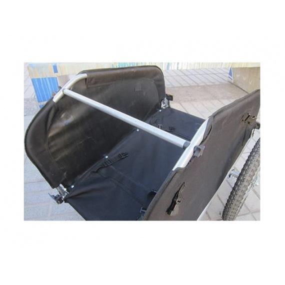 Carro de arrastre para carga / mascota de 2 ruedas