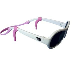 Asujetador de lentes con orejera