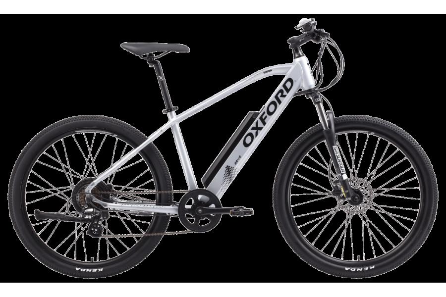 Bicicleta eléctrica Oxford Ez Way 2019 | Modelo Hombre | 27.5 | Talla M | Color Plateado